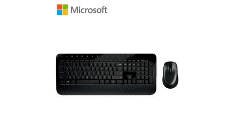 【Microsoft 微軟】無線滑鼠鍵盤組 2000