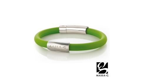 MASSA-G H-FEVER全彩6mm鍺鈦手環-翡冷翠綠