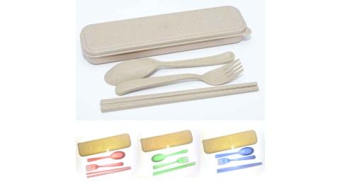 環保小麥餐具組(三件式)HF-WB03