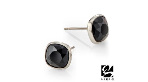 MASSA-G【黑主義】純鈦耳環(一對)
