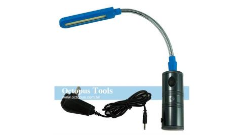 Octopus 蛇管充電式LED廣角燈(434.9018)
