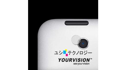 iPad 2 攝影機鏡頭專用光學顯影保護膜-贈拭鏡布