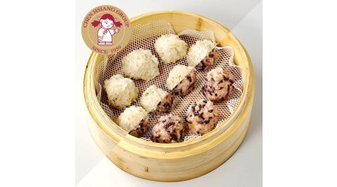 《禎祥食品》鮮肉珍珠丸+紫米珍珠丸(30粒/包,共2包)
