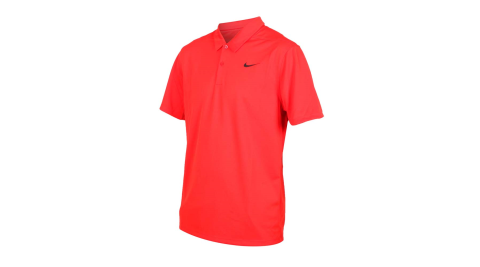 NIKE GOLF 男針織短袖POLO衫-短袖上衣 高爾夫 慢跑 紅黑@AJ5480-634@