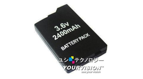PSP (2007/3007)薄機專用2400mAh充電電池