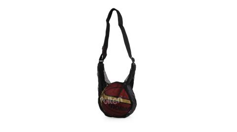 MOLTEN 籃球網袋-球袋 黑@NB1B@