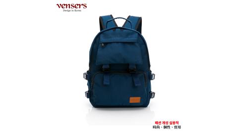 【vensers】都會風後背包(RC903301寶藍)