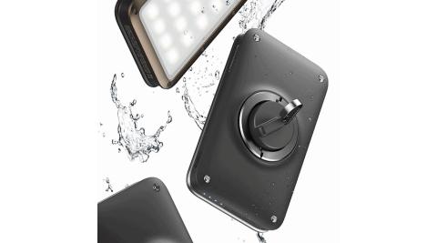 【KAZMI】HOT CAMP N9-LUMENA2 行動電源照明LED燈-深霧灰 星空黑 送S型雙面扣環