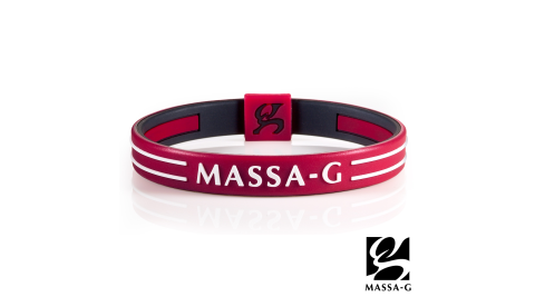 MASSA-G Energy Plus雙面鍺鈦能量手環-紅