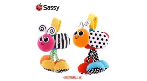 美國 Sassy 可吊掛鈴/ 拉繩震動鳥