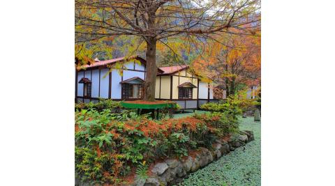 南投埔里-台一生態休閒農場(花泉卉館經典和室套房平日四人二日遊)