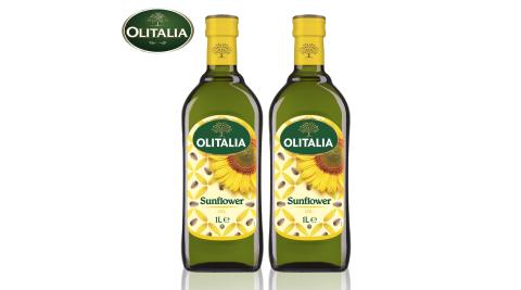 【Olitalia奧利塔】葵花油單罐9罐組(1000ml/罐)