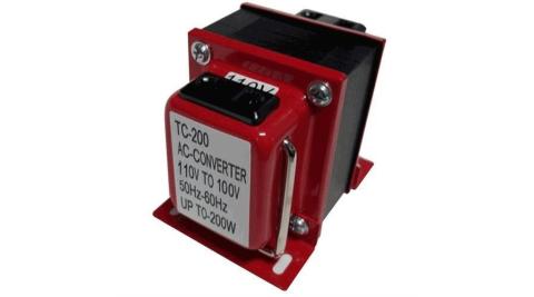 【長效型】雙向110V↔100V 升降壓變壓器 200W