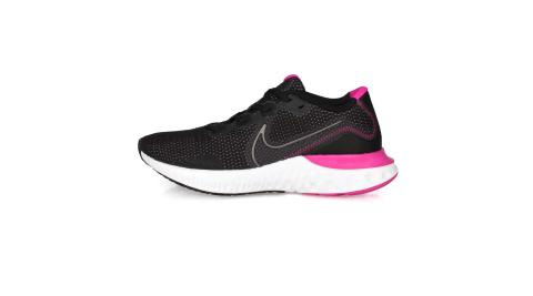 NIKE WMNS RENEW RUN 女慢跑鞋-路跑 網布 避震 運動 黑灰紫紅@CK6360004@