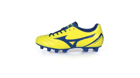 MIZUNO MONARCIDA NEO SELECT JR男童足球鞋-WIDE 黃藍@P1GB202525@
