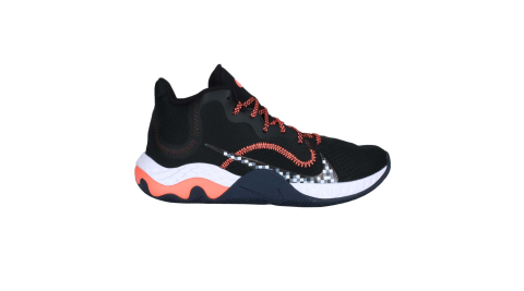 NIKE RENEW ELEAVTE 男籃球鞋-訓練 中筒 避震 黑橘白深藍@CK2669006@