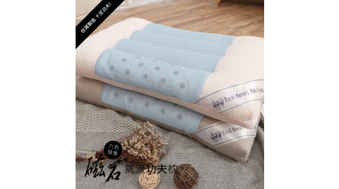 【R.Q.POLO】台灣精製 磁石氣流功夫枕(6款)