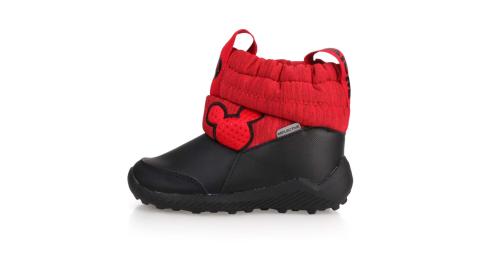 ADIDAS RAPIDASNOW MICKEY I男小童保暖短筒靴-童鞋 愛迪達 黑紅@G27540@