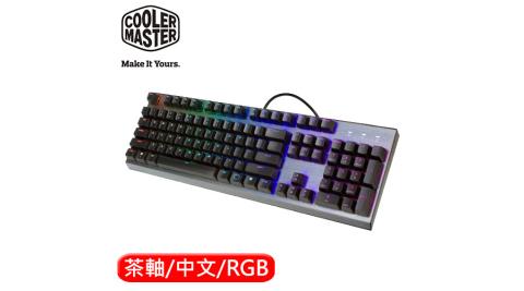 Cooler Master 酷媽 CK350 RGB 機械電競鍵盤 茶軸 中文