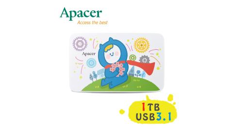 【加送贈品】Apacer宇瞻 AC233 1TB『Ning's』聯名款行動硬碟