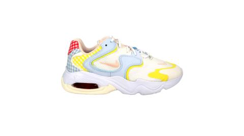 NIKE WMNS AIR MAX 2X 女運動鞋-氣墊 慢跑 路跑 老爹鞋 白藍黃紅@DJ5056481@