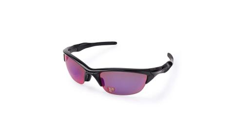 OAKLEY JACKET 2.0偏光 - 太陽眼鏡 慢跑 登山 抗UV 黑藍@OAK-OO9153-17@