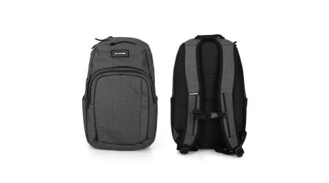 DAKINE 學士後背包25L-雙肩包 肩背包 筆電包 15吋筆電 保冷袋 深灰黑@10002634-CARBONII@