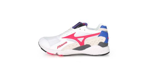 MIZUNO MONDO CONTROL 男1906系列休閒慢跑鞋-復古 美津濃 白桃紅紫藍@D1GA201166@