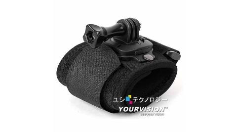 GoPro 高彈力舒壓手腕帶 臂帶 可360度旋轉 for HERO 4 3+ 3 2