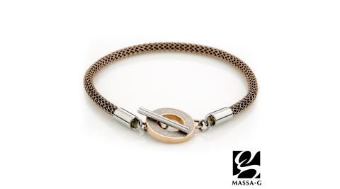 MASSA-G Titan 玫瑰魅力 4mm超合金鍺鈦腳環