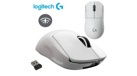 【Logitech 羅技】PRO X Superlight 無線輕量化電競滑鼠 白色