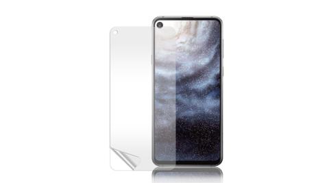 Monia 三星 Samsung Galaxy A8s 高透光亮面耐磨保護貼 保護膜(非滿版)