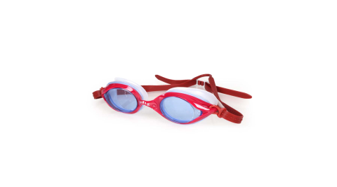 SABLE 101T系列平光泳鏡-訓練 游泳 海邊 蛙鏡 紅@RS101T-03-13612@