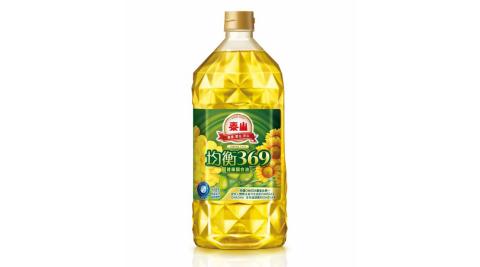 【泰山】均衡369健康調合油4罐(1.5公升/罐)