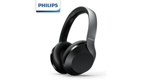 PHILIPS 頭戴式無線藍牙5.0抗噪耳機TAPH805BK/10