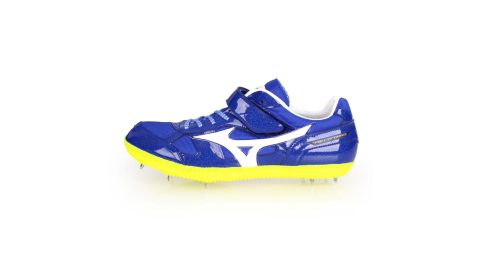 MIZUNO FIELD GEO HJ-B-日製男女田徑釘鞋-跳高 藍白@U1GA194201@