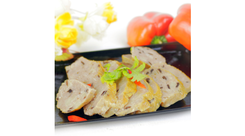 【高興宴】素人上菜-養生健康香菇卷300g(蛋奶素)