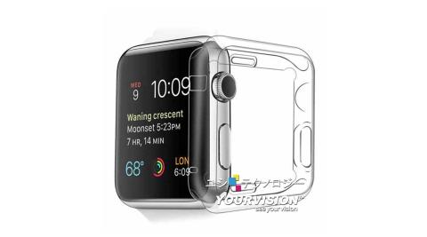 (2入)Apple Watch series 1,2,3 專用清透水感保護套 crystal case