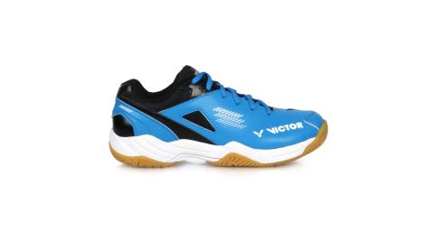 VICTOR 男專業羽球鞋-4E-U型楦 羽毛球 訓練 透氣 勝利 寬楦 藍黑白@A171-M@