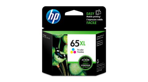 HP N9K03AA NO.65XL 彩色墨水匣
