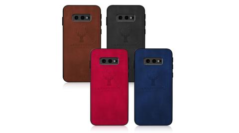 VXTRA 三星 Samsung Galaxy S10e 北歐鹿紋防滑手機殼 有吊飾孔