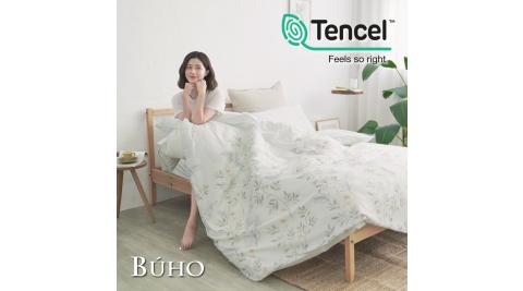 BUHO《初晴方好》舒涼TENCEL天絲單人床包+雙人兩用被套三件組