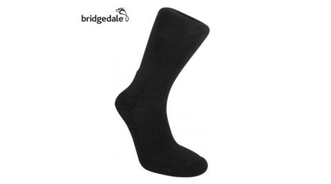 【Bridgedale 英國】TR山徑 羊毛健行襪-薄 M/L 黑 登山襪 健行襪 排汗襪 保暖襪 襪子 152