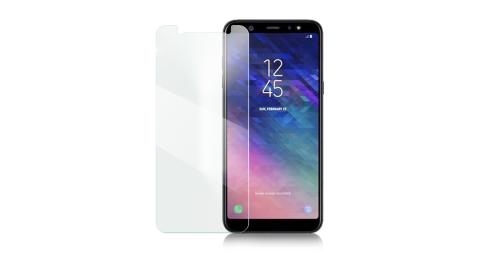 Xmart for Samsung Galaxy A6+ 薄型 9H 玻璃保護貼-非滿版