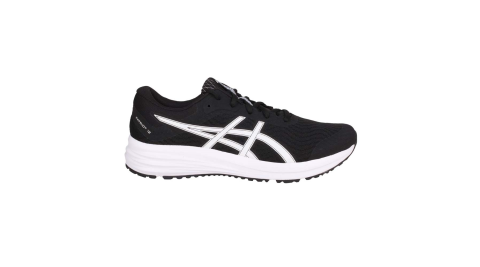 ASICS PATRIOT 12 男慢跑鞋-路跑 輕量 運動 亞瑟士 黑白@1011A823-001@