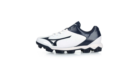 MIZUNO WAVE SELECT NINE 男棒壘球鞋-WIDE-寬楦 白丈青@11GP192214@