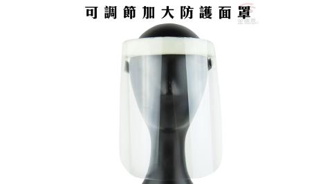 2入可調節加大防護面罩/防疫/環保/噴沫/餐廳