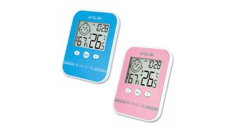 【Dr.AV 聖岡】日式高精度溫濕度計2入(GM-251-2入)