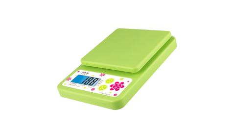 【Dr.AV 聖岡科技】專業級超耐用電子秤-綠色(KS-2316)