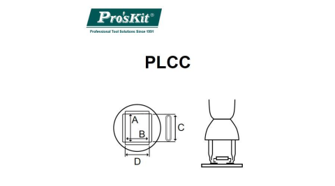 Pro'sKit寶工SS-989/601/979用熱嘴 9SS-900-L